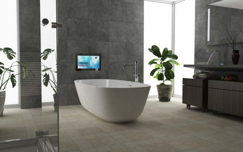 make bathroom to become-luxury
