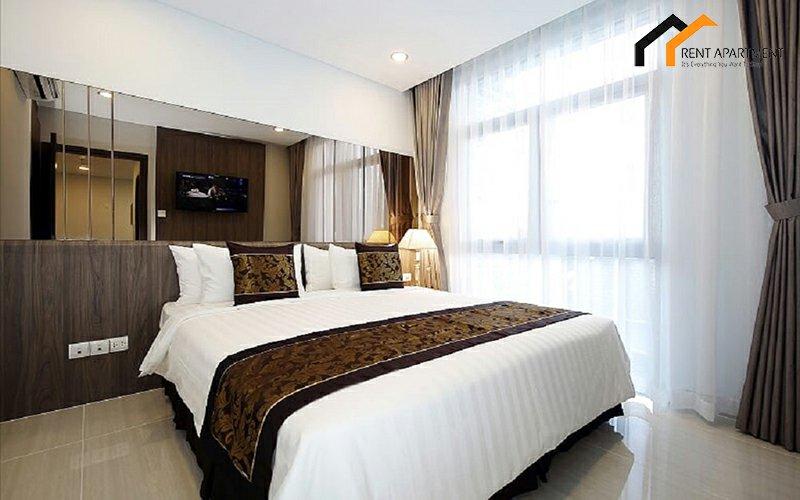 flat bedroom microwave condominium deposit